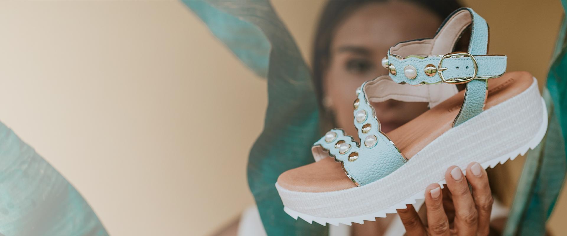 sandálias de mulher